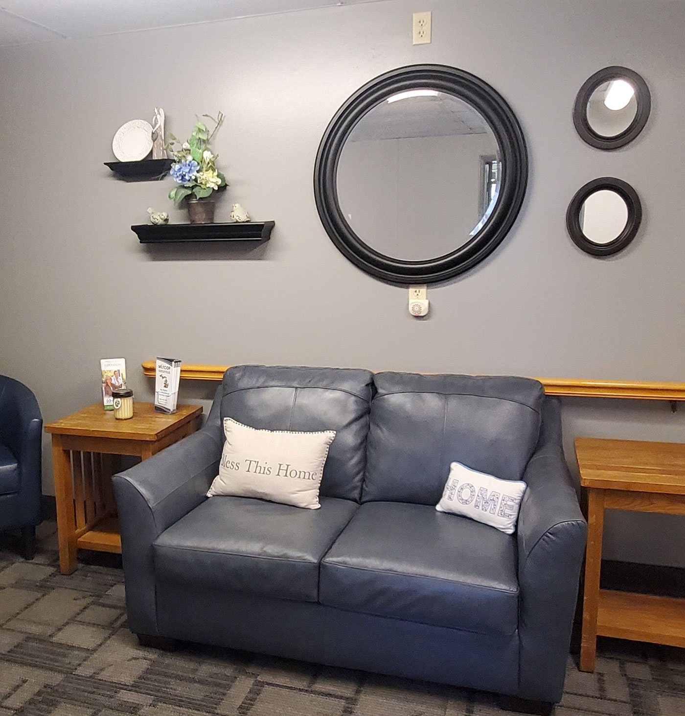 Sitting Area - Chesaning Nursing and Rehabilitation Center